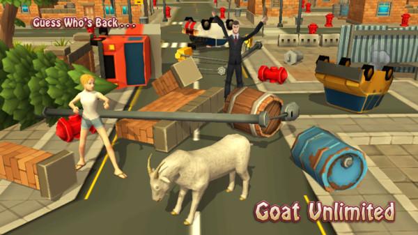 一只普通的山羊游戏中文版 v2.0